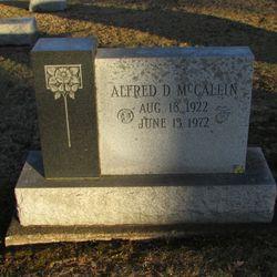 Alfred D McCallin