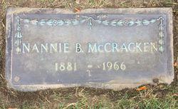 Nannie B McCracken