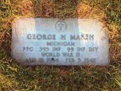 PFC George H Marsh