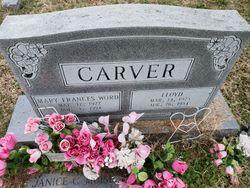 Mary Frances <I>Word</I> Carver