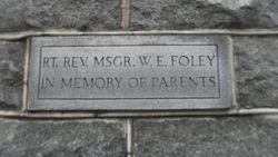 Rev William E. Foley