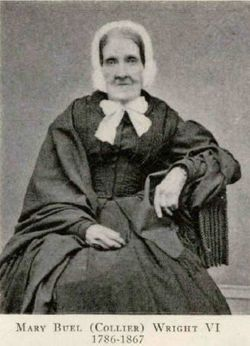 Mary Buel <I>Collier</I> Wright