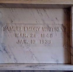 Samuel Emory Whitney