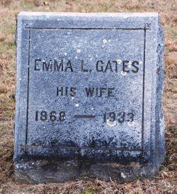 Emma L <I>Gates</I> Davis