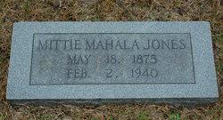 Mittie Mahala Jones