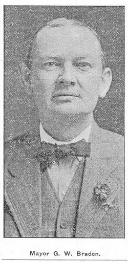 George W Braden 1865 1924