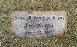 Anna <I>McLaughlin</I> Dupuy
