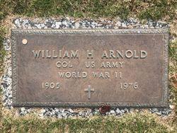 "COL Billy H ""William H or Richard William"" Arnold"