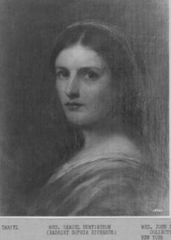 Harriet Sophia <I>Richards</I> Huntington