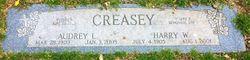 Audrey Louise <I>Deardorf</I> Creasey