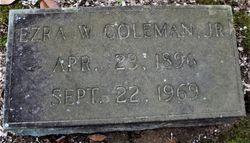 Ezra W. Coleman Jr.