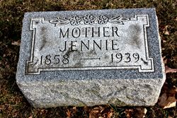 """Jennie """"Jantje"""" <I>De Jong</I> Remmenga"""