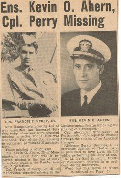 Corp Francis E Perry Jr.