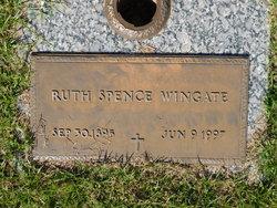 Ruth <I>Spence</I> Wingate