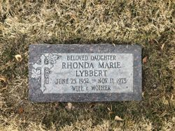 Rhoda Marie <I>Duerlinger</I> Lybbert