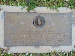 Henry E Peet