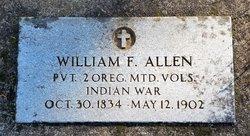 William F Allen