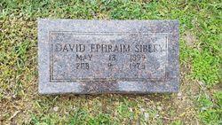 """David Ephraim """"Ephe"""" Sibley"""