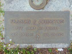 Francis P Johnston