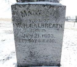 "Mary Jane ""Jennie"" <I>York</I> Galbreath"