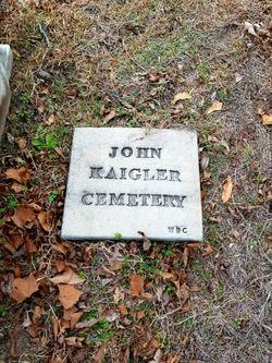 John Kaigler Cemetery