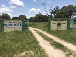 Katima Mulilo Cemetery