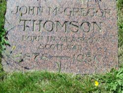 John McGregor Thomson