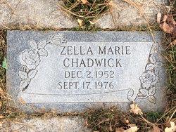 Zella Marie <I>Chadw</I> Martin