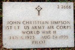 John Christian Simpson