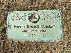 Porter George Canaday