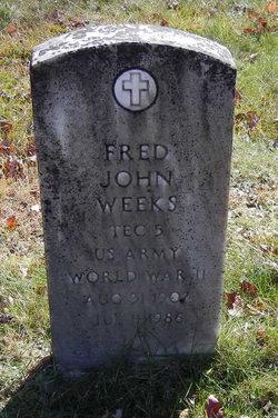 Fred John Weeks