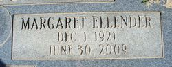 Margaret Ellender <I>Eubanks</I> D'Haillecourt