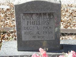 Oda <I>Shedd</I> Phillips