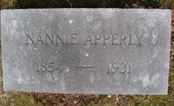 Nannie L. <I>Mansfield</I> Apperly