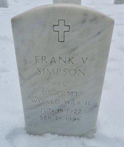 Frank V Simpson