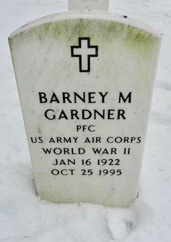 Barney M Gardner