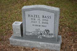 Hazel Yvonne <I>Stansell</I> Bass