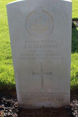 Fusilier John Galloway