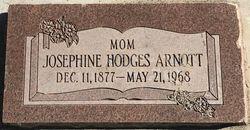 "Josephine ""Josie"" <I>Hodges</I> Arnott"