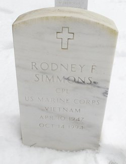 Rodney F Simmons