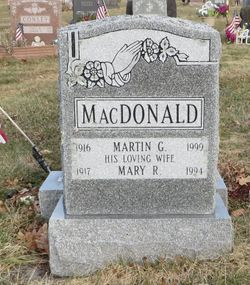 Mary R. <I>Ahearn</I> MacDonald