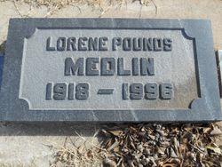 Lorene <I>Pounds</I> Medlin