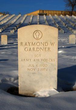 Raymond W Gardner