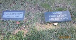 """Edith Eliza """"Elizabeth"""" <I>Logan</I> Houston"""