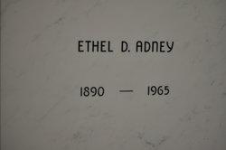 Ethel Estel <I>Rosemeyer</I> Adney