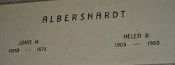 Helen Blanche <I>Dunlap</I> Albershardt