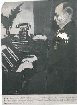 "Rev Johannes Alfred ""J.A. / John"" Hultman"