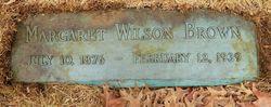 Margaret Keddie <I>Wilson</I> Brown