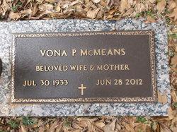 Vona Bell <I>Paulk</I> McMeans