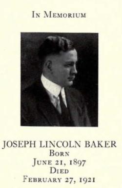 Joseph Lincoln Baker